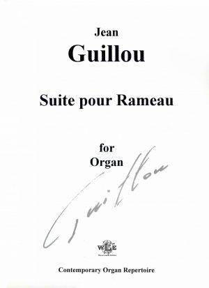 Suite pour Rameau - Jean Guillou