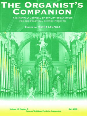 The Organist's Companion (digital version included) - United States-2 Years-0