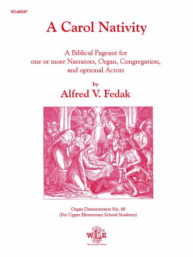 A Carol Nativity – Alfred V. Fedak-0