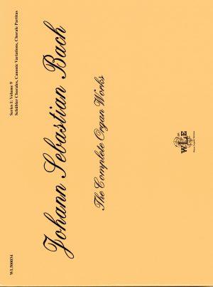 The Complete Organ Works, Series I: Volume 9, Schübler Chorales, Canonic Variations on Vom Himmel hoch, Chorale Partitas – Johann Sebastian Bach-0